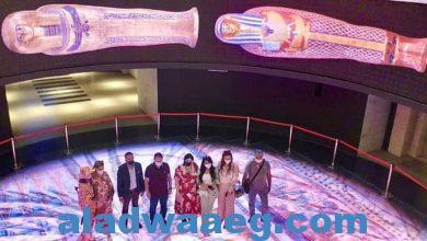 صورة استقبل المتحف القومي للحضارة المصرية بالفسطاط، وفدا من المؤثرين و المدونين العرب الذين يقومون بزيارة تعريفية في محافظات كل من القاهرة و الاسكندرية و البحر الأحمر للترويج للمقصد السياحي المصري في السوق العربي