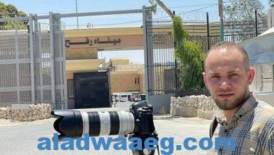 صورة الأضواء تُحاور الصحفي هشام النواجحة