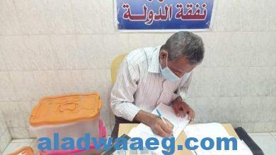 صورة الكشف على 1036 مواطن فى قافلة طبية مجانية بقريتىّ أبو حزام وحمرا دوم،،
