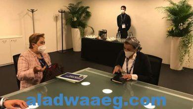 صورة وزيرة البيئة تعقد أولى اللقاءات الثنائية على هامش اجتماعات ميلانو للمشاورات التمهيدية قبل cop26…