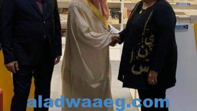 صورة تحت رعاية خادم الحرمين الشريفين : * وزراء ثقافة السعودية ومصر والعراق وفلسطين يدشنون فعاليات معرض الرياض الدولى للكتاب.