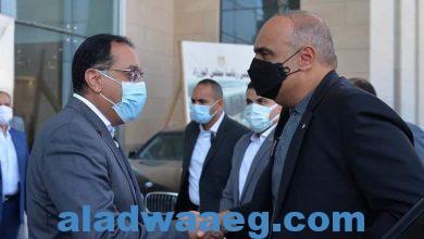 صورة في أول استقبال لمسؤول رسمي بمقر مجلس الوزراء بالحي الحكومي: