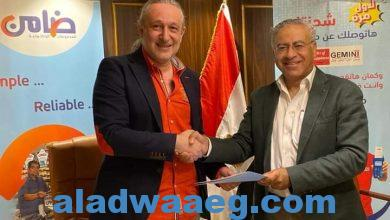 صورة ضامن وجيمناي توقعان عقد شراكة لدعم خدمات السداد الإلكتروني.