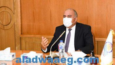 صورة الداودي يتابع الموقف التنفيذي لمشروعات الصرف الصحي بقنا.