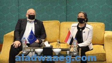 صورة على هامش استضافة مصر للاجتماع الوزاري الثاني للاتحاد من أجل المتوسط:.