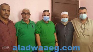 صورة تطعيم المواطنين ضد مرض فيروس كرونا بمسجد العفيفي ..