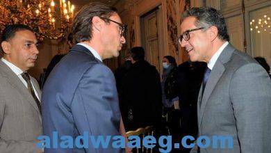 """صورة – وزير السياحة والآثار يعقد اجتماعاً موسعاً مع رئيس نقابة منظمي الرحلات الفرنسية """"سيتو"""