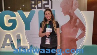 """صورة الإعلامية أنجل جمال : مؤتمر """" جينا أليكس """" يعكس مدى الإهتمام بصحة المرأة و تطور المنظومة الصحية"""