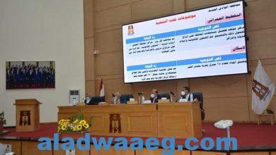 صورة محافظ الوادي الجديد يترأس اجتماع المجلس التنفيذي للمحافظة..