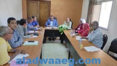 صورة وكيل زراعة الفيوم اجتماع اللجنة الإقليمية للمحاصيل السكرية بالمحافظة..
