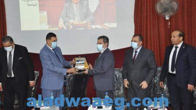 صورة رئيس جامعة كفر الشيخ يشهد حفل استقبال الطلاب الجدد بكليتي التربية والحاسبات والمعلومات
