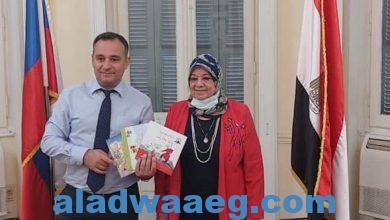 صورة وداع مصرى دافئ لمدير البيت الروسى تيفانيان: شربت من ماء النيل وسأعود.
