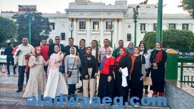 صورة سند المنيا تشارك بمهرجان المشى احتفالا بنصر اكتوبر المجيده